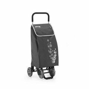 Gimi Twin nákupná taška na kolieskach sivá