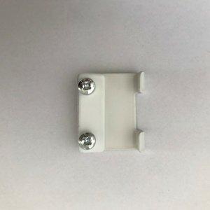 Gardinia Mostík pre stenové nosníky Deluxe, biela, 4 ks