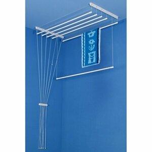 ALDO Stropný sušiak na bielizeň Ideal 6 tyčí, 150 cm