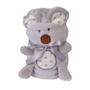 Babymatex Detská deka Willy Koala, 85 x 100 cm