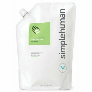 Simplehuman Hydratačný penové mydlo 828 ml, uhorka