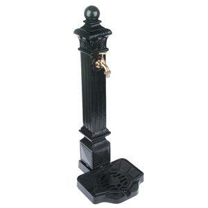 Hliníková fontána čierna, 80 x 32 cm