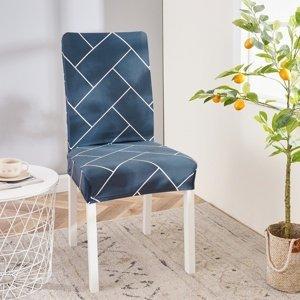 4Home Napínací poťah na stoličku Elegant, 45 - 50 cm, sada 2 ks