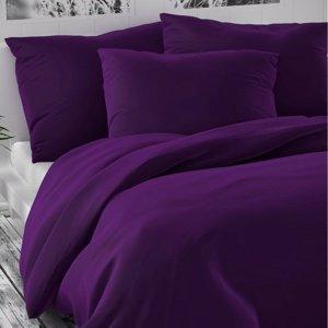 Kvalitex Saténové obliečky Luxury Collection tmavo fialová