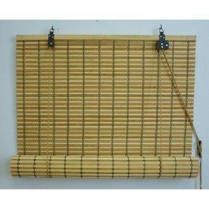 Gardinia Roleta bambusová JAVA prír./čokoláda, 60 x 160 cm