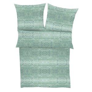 Zeitgeist Saténové obliečky 5839/680 zelená, 140 x 200 cm, 70 x 90 cm