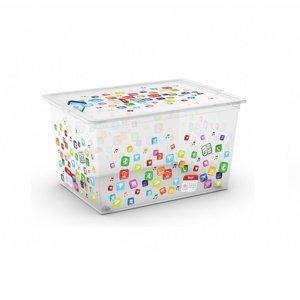 KIS Dekoračný úložný box C-Box Style App XL, 50 l