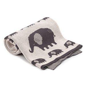 4Home Detská bavlnená deka Elephant, 70 x 90 cm
