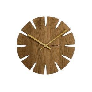 Dubové hodiny vlaha VCT1013, 33cm