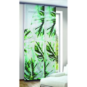 Albani závesový panel Leo zelenomodrý, 245 x 60 cm