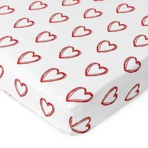 4Home Jersey prestieradlo In love, 100 x 200 cm