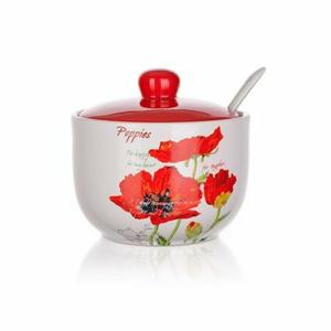 BANQUET Cukornička s lyžičkou Red Poppy OK 60ZF1168RP