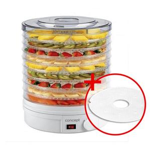 Concept SO-1020 elektrická sušička ovocia darček +sušiace sito na bylinky