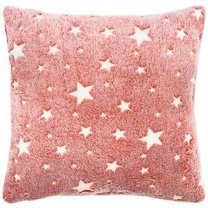 4Home Obliečka na vankúšik Stars svietiaca červená, 40 x 40 cm