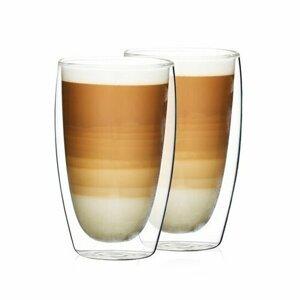 4Home Termo pohár na latté Hot&Cool 410 ml, 2 ks