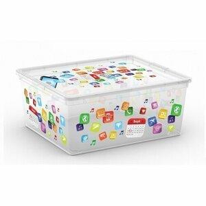 KIS Dekoračný úložný box C-Box Style App M, 18 l