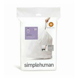 Vrecia do odpadkového koša 30-35 L, Simplehuman typ H, zaťahovacie, 20 ks v balení