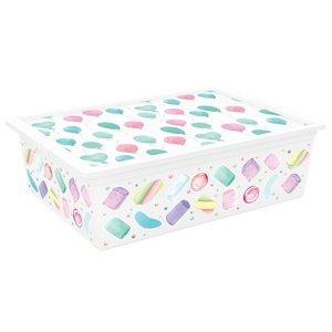 KIS Dekoračný úložný box C-Box Style Portobello L, 27 l