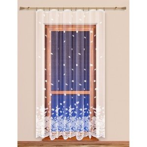 4Home Záclona Hortenzie, 200 x 250 cm