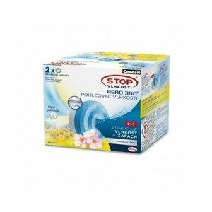 Ceresit STOP VLHKOSTI AERO 360° náhradné tablety 3v1 lúčne kvety (2x450g)