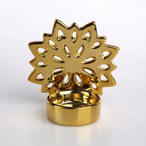 Altom Porcelánový svietnik na čajovú sviečku Snowflake, 9,5 x 10 cm