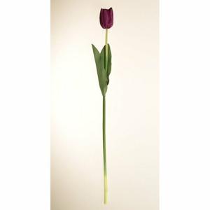 Umelá kvetina Tulipán fialová, 60 cm
