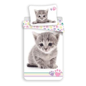 Bavlnené obliečky Kitten colour, 140 x 200 cm, 70 x 90 cm