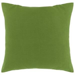 Dekoračný Vankúš Zippmex, 50/50cm, Zelená