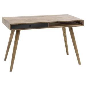 Písací Stôl Z Masívu Repa Čierna