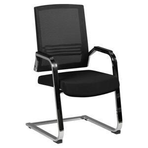 konferenčná stolička Apollo A3 Čierna