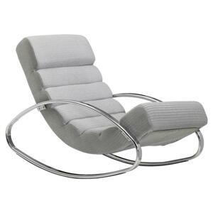 Relaxačné Ležadlo Wohnling Sivé