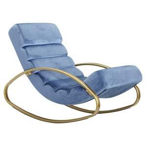 Relaxačné Ležadlo Wohnling Modré
