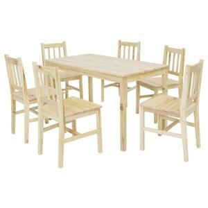 stolová súprava Z Borovicového Dreva