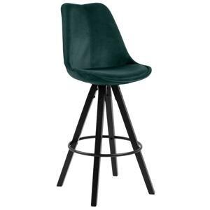 Barová stolička Dima smaragdová