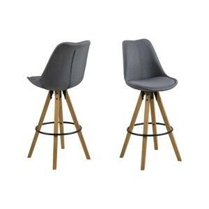 Barová stolička Dima Tmavosivá