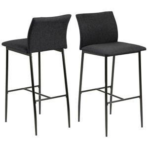 Barová Stolička Demina Š: 42 Cm Sivá