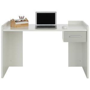 Písací stôl Young Dekor Biela/svetlo sivá