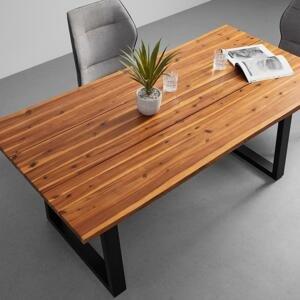 Jedálenský Stôl Z Akácie Francesco 180x90 Cm