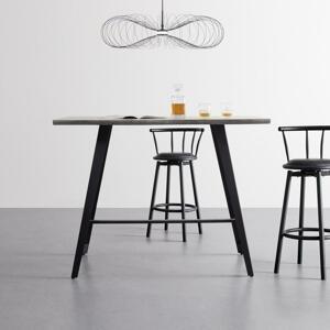 Barový Stôl Nani Dekor Betón 140x70 Cm