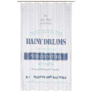 Záves Do sprchovacieho kúta Rainy Dreams, 180/200 Cm