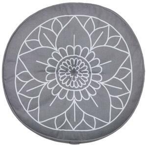 Podlahový Vankúš Lata Yoga, P: 40cm, Sivá