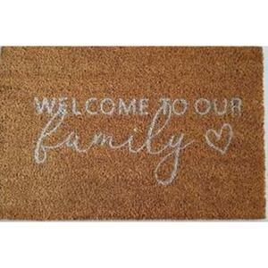 Rohožka Welcome To Our Family, 40/60cm