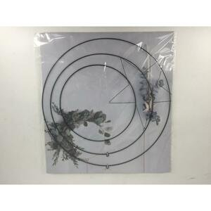 Závesná Dekorácia Circles, Ø: 50cm, 3-Dielna