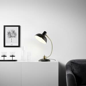 Stolná Lampa Siena Čierna