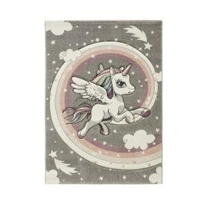 Detský koberec unicorn, 100/150cm