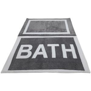 Kúpeľňová Predložka Bath, 42/60+53/86cm