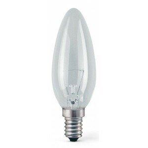 Žiarovka TES-LAMP ZTESE1440W, E14, 40W, sviečka, číra