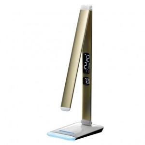 Stolná LED lampička Winner Group RGB M3A, zlatá