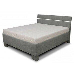 Čalúnená posteľ Antares 180x200, vrátane matracov,pol.roštu a úp