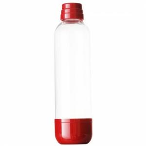 Fľaša Limo Bar, 1l, červená